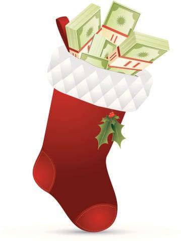 money-in-stocking